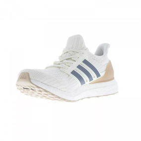 4231216b08a Adidas Ultra Boost Laceless Masculino - Tênis Textil Creme no ...