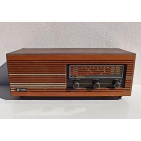 Antigo Radio De Madeira Frahm - (vitrola Valvula Capela)