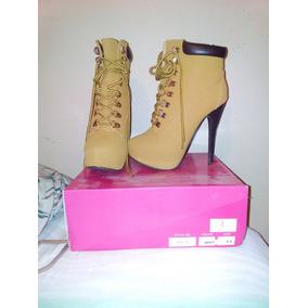 84b80fe1df Hermosos Botines Vaqueros Para Dama Mujer - Zapatos Naranja en ...