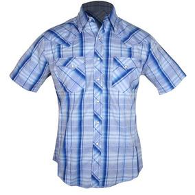 Camisa Country Manga Curta Wrangler Masculina bc2fe5cc4d3