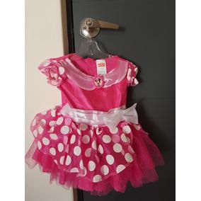 Vestido Disfraz Disney Minnie Mimi 2 Años