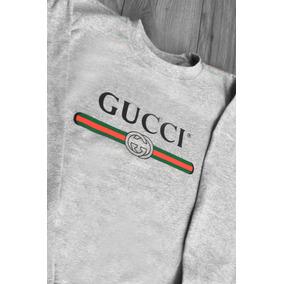 fb1b5f630e458 Sudadera Sin Gorro Gucci Moda Colores Adulto Envio Gratis