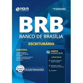 Apostila Brb-df - Banco De Brasília - Escriturário (2019)