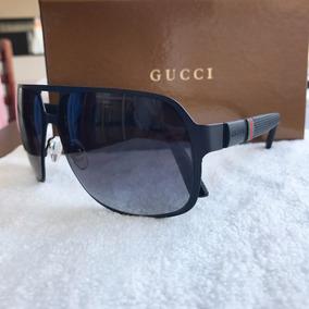 71b3aaddd1149 Oculos De Sol Masculino Gucci Com Case - Óculos no Mercado Livre Brasil