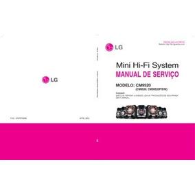 Esquema Som Lg Cm9520 Mini Hi-fi System