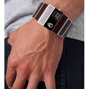 5422ad8d376 Madeira Relogio Nixon Rotolog - Relógios De Pulso no Mercado Livre ...