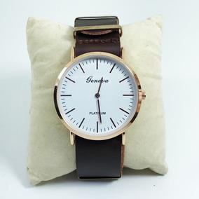 7a8f73d0ca1 Relogio Geneva Marrom - Relógios De Pulso no Mercado Livre Brasil