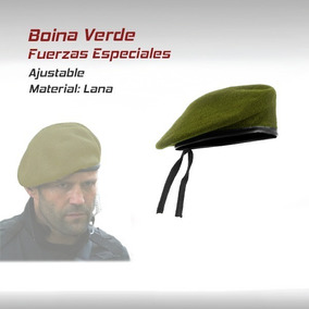 bad285ba28d26 Boina Gorra Fuerzas Especiales Militar Paintball Gotcha M16