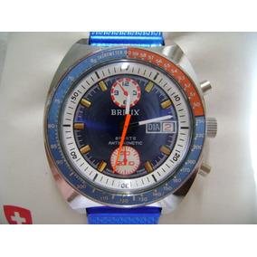 Reloj Britix Sports De Cuerda Diver Vintage