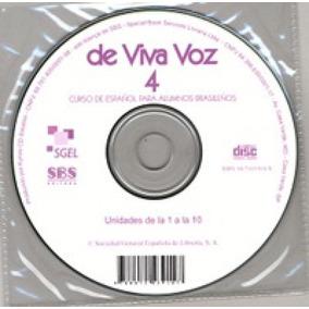 De Viva Voz 4 - Cd Audio - Sgel