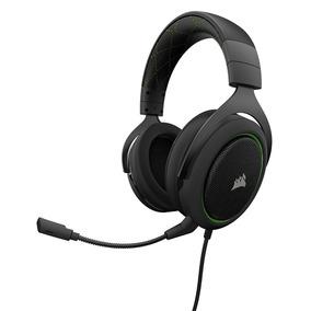Headset Gamer Corsair Hs50 Gaming Green Ca-9011171-na