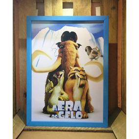 Poster A Era Do Gelo Quadro Decorativo Infantil