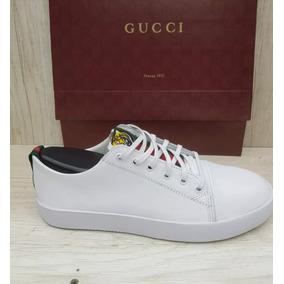 Sapatenis Tenis Gucci Ace Tigre Masculino Top Muito Barato 8f0b3bf3e7d