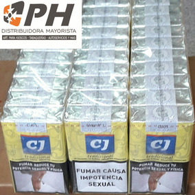 Cigarrillo Cj Tradicional (5 Cartones X10 Atados) $34.72 C/