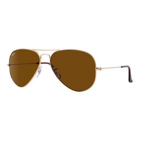 4d116b3cc5b1b Óculos De Sol Ray Ban Rb3025 Aviador Grande Preto Lente Fumê ...
