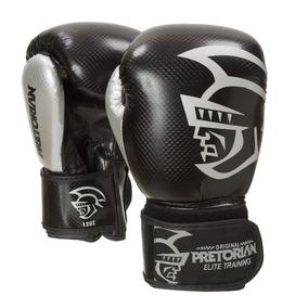 Luva De Boxe/muay Thai Pretorian Elite Training 16oz Preta