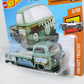 Hot Wheels Volkswagen T2 Pick-up Hardware Kombi Vw Hot Truck