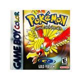 Pokemon Gold - Nintendo Gbc & Gba
