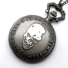 Reloj Collar Metal Con Cadena Death Note L Anime 8e16be44958c