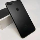 iPhone 7 Plus 128gb Seminovo Impecável Black Matte