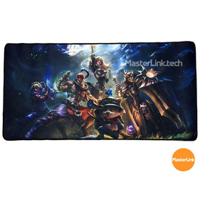 Mouse Pad Gamer Extra Grande 70x35x3mm Exbom Mp-7035c (lol)