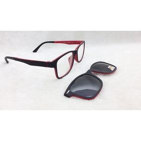 Armação De Óculos P  Grau Clip On 2 Em 1 Polarizado S028 de3feff7aa