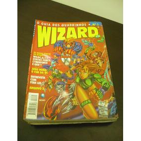 Revista Wizard - 20 Revistas - Nac E Imp - Frete Barato