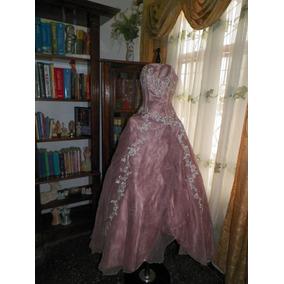 Vestido Elegante Con Pedrería