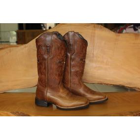 2b7e12f2e80d0 Bota West Country Feminina Bico Quadrado - Sapatos no Mercado Livre ...