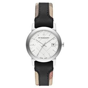 Reloj Burberry Swiss Dama Cristal Zafiro Bu9150 $4600 Envió