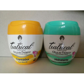 Kit Teatrical Hidratante 100g + Clareador 100g