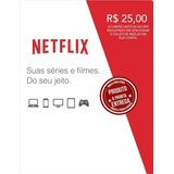 Cartão Pré-pago Conta Netflix Envio Imediato. O Verdadeiro.