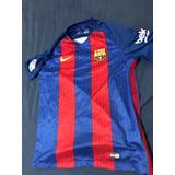 5e2e463131 Camisa Barcelona 16 17 - Camisa Barcelona Masculina no Mercado Livre ...