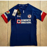 Jersey Cruz Azul 2018 2019 Local Parche Liga Mx Incluido
