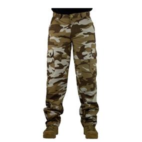 Calça Cargo Masculina Tática Militar Ripstop Camuflada Top