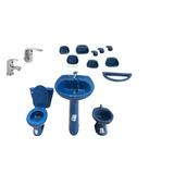 Set Accesorios De Baño De Loza En Color - Todo para Baños en Mercado ... 036d5335f018