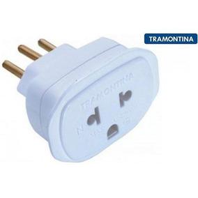 Pino Adaptador Tramontina 2p + T 10a - 57400/190