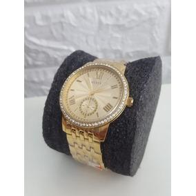 604fe57d78ed1 Relogio Feminino Guess Cristais Swarovski - Relógios De Pulso no ...