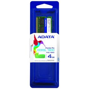 Memoria Ram Ddr3l 1.35v 4gb Adata Adds1600w4g11-s Laptop