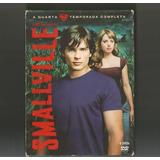 6 Dvds Smallville 4ª Temporada Completa