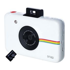 Câmera Digital Instantânea Polaroid Snap Com Filme E Cartão