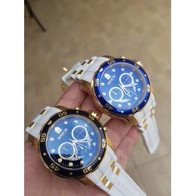 0cb5ddf8cf8 Invicta Pro Diver Pulseira Branca Masculino - Relógios De Pulso no ...