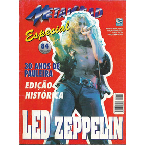 Revista Metalhead Especial Led Zeppelin Edição Histórica