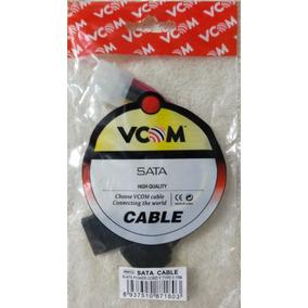 Cable Potencia Sata Doble Conexión 12vdc Para Pc
