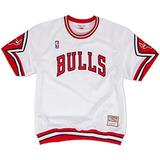 Mitchell Ness Nba Bulls Athletic Retro Camisa De Calentamien