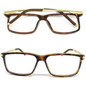 65fe31677a2b7 Armacao Oculos De Grau Masculino Social Armacoes - Óculos no Mercado ...