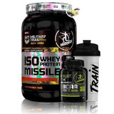 Iso Whey Isolado 930g + Bcaa Colt 120 Caps + Shaker - Midway