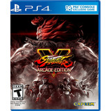 Street Fighter V Arcade Edition Ps4 Disponible