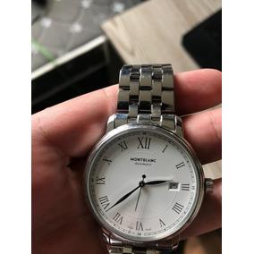 a6e3ccc0ec4 Relogio Montblanc Mont Blanc Automatico Original - Relógios De Pulso ...
