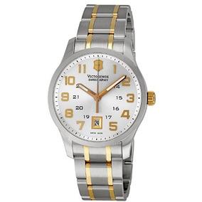 Relógio Masculino Victorinox Swiss Army Prata/dourado Aço